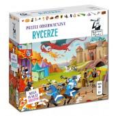 Puzzle obserwacyjne - Rycerze