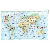 Puzzle observation - Zwierzęta świata