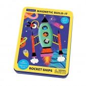 Układanka magnetyczna Rakiety kosmiczne