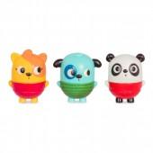 B. Toys Zestaw 3 rozkręcanych sikawek Panda