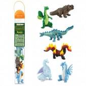 Safari Ltd Figurki Smoki żywiołów