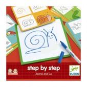 Step by step - Nauka rysowania zwierzęta