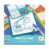 Step by step - Nauka rysowania Artur
