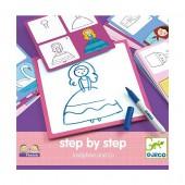 Step by step  Nauka rysowania księżniczki