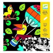 Kolorowanki welwetowe - Ptaki