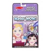 Water Wow - kolorowanka wodna Makijaż