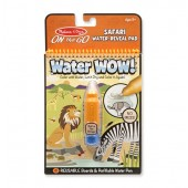 Water Wow - kolorowanka wodna - Safari