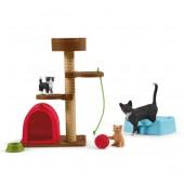 Schleich - Zabawa z kotkami