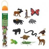 Safari Ltd Figurki Zwierzęta w lesie