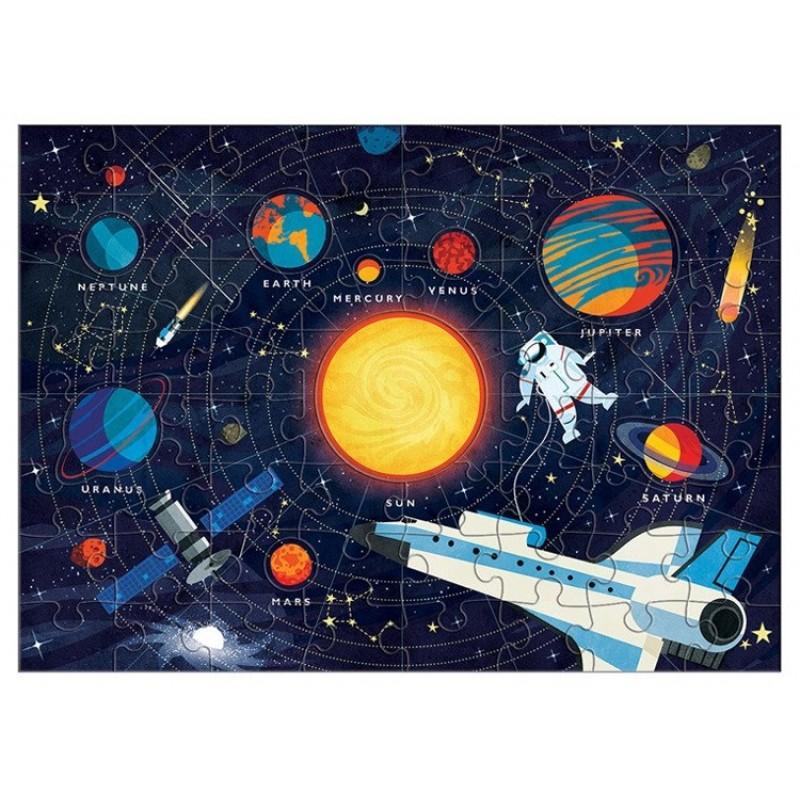 Puzzle Układ słoneczny Planety gry i zabawki edukacyjne